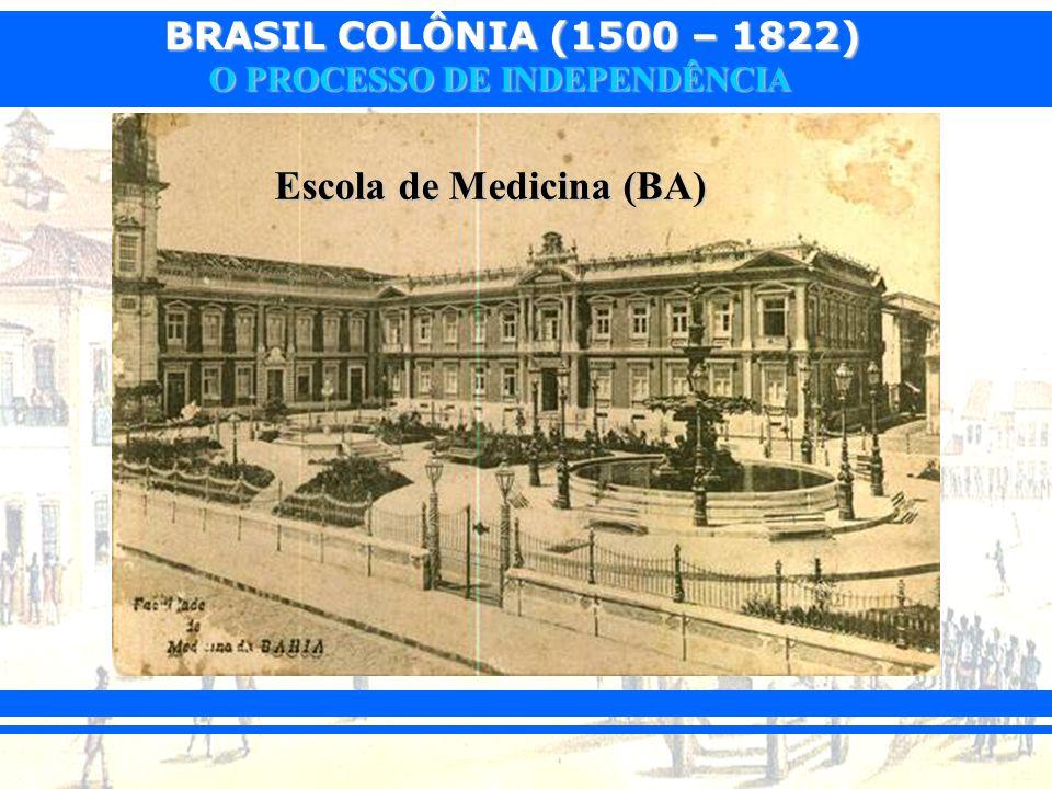 BRASIL COLÔNIA (1500 – 1822) O PROCESSO DE INDEPENDÊNCIA Objetivos: Objetivos: Volta de D.