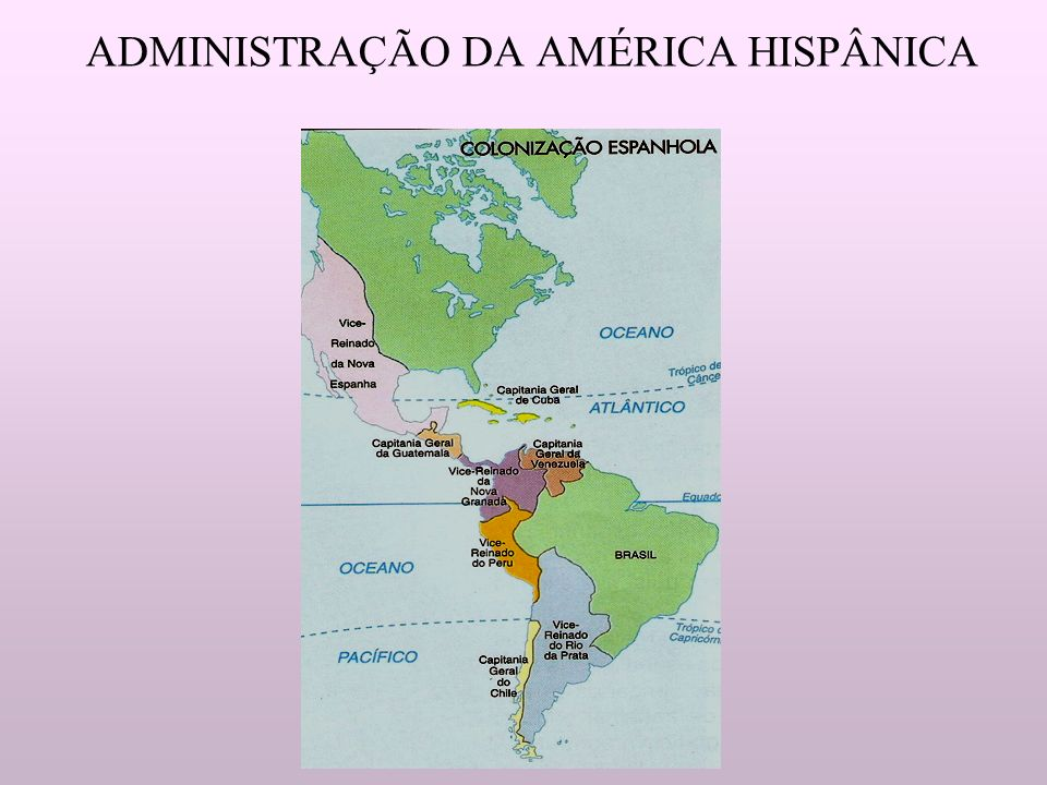 ADMINISTRAÇÃO DA AMÉRICA HISPÂNICA