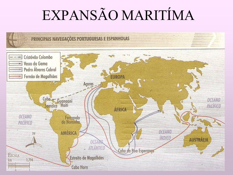 EXPANSÃO MARITÍMA
