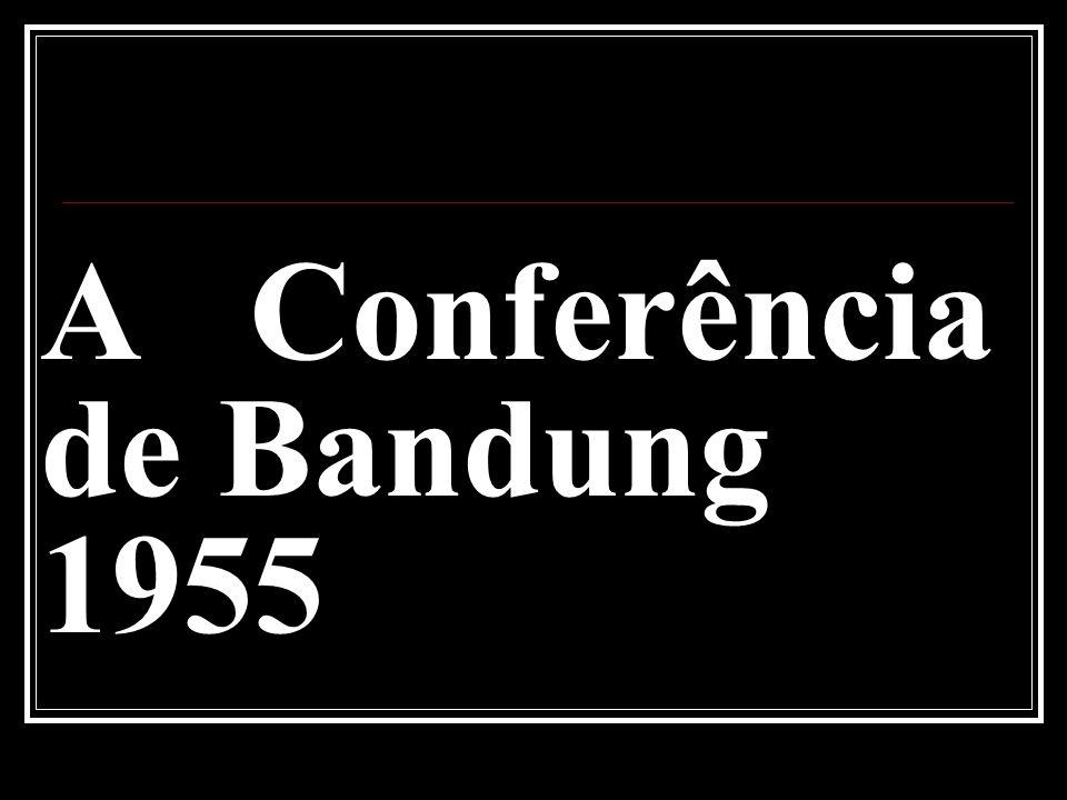 A Conferência de Bandung 1955