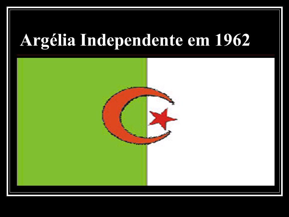 Argélia Independente em 1962
