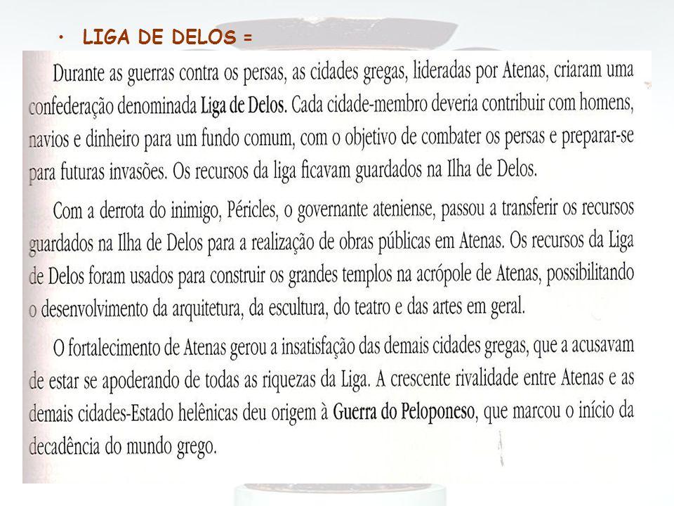 LIGA DE DELOS =