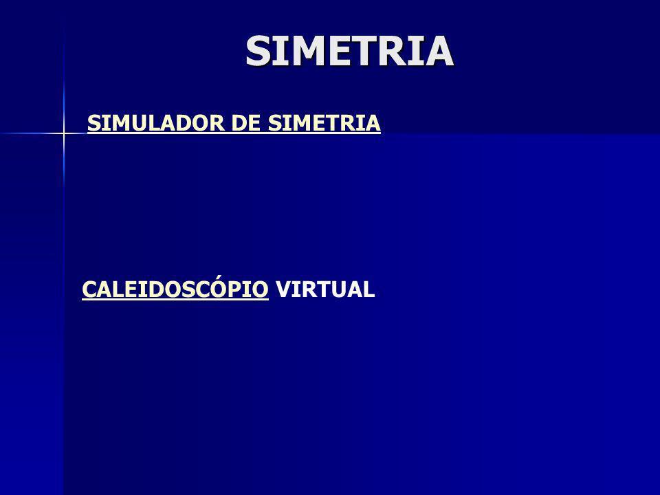 SIMULADOR DE SIMETRIA CALEIDOSCÓPIO VIRTUALSIMETRIA