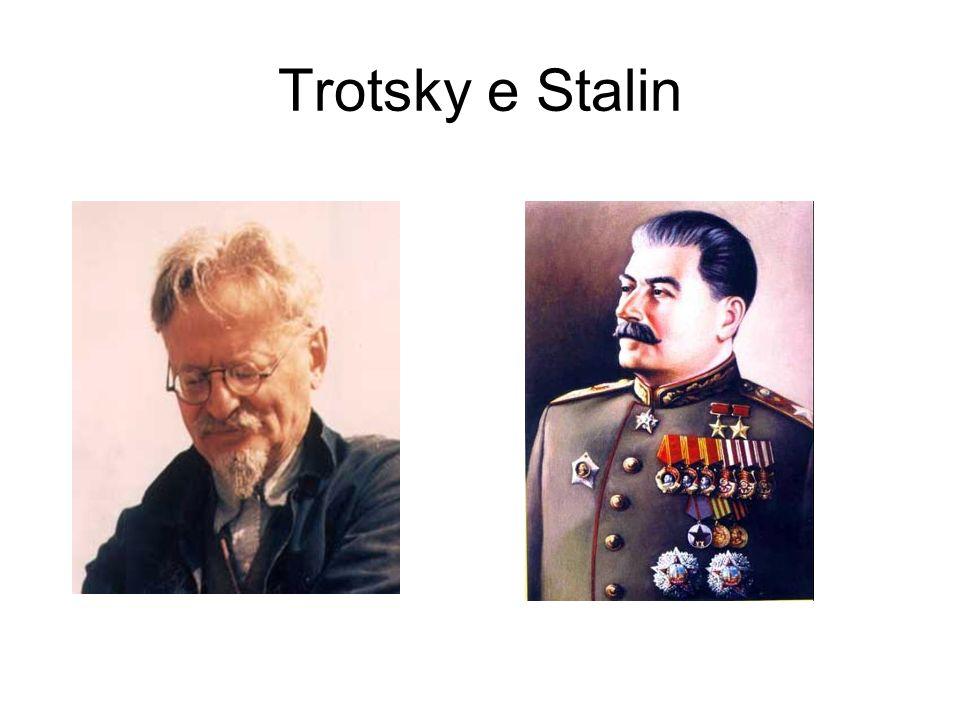 Trotsky e Stalin