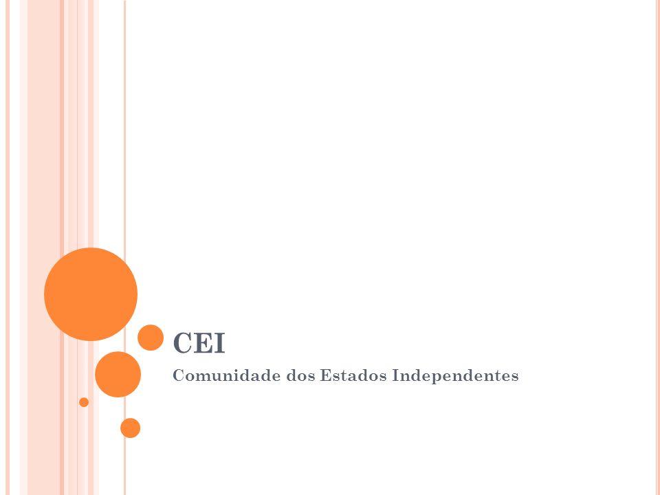 CEI Comunidade dos Estados Independentes