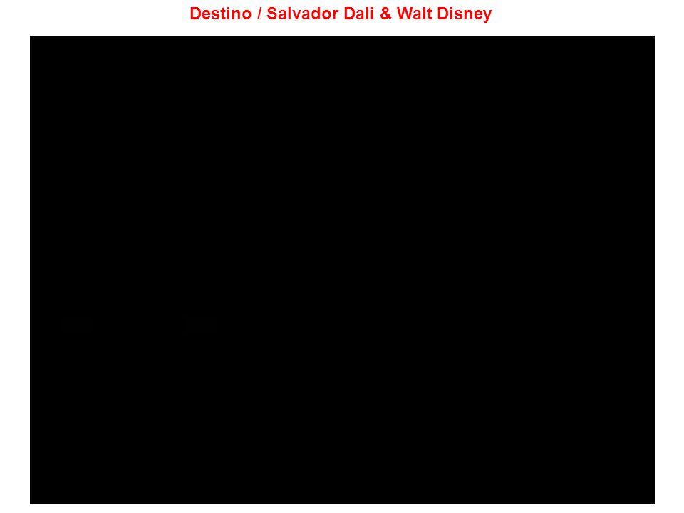 Destino / Salvador Dali & Walt Disney