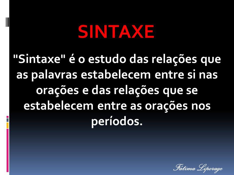 SINTAXE