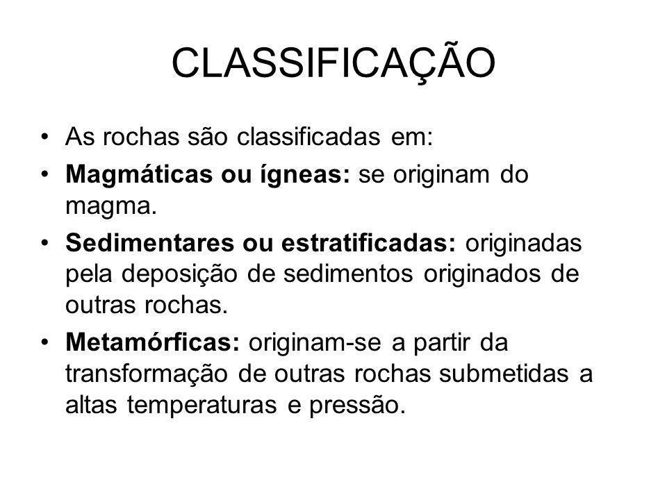 ROCHAS SEDIMENTARES Argila: utilizada na fabricação de artesanal de potes, panelas, moringas, telhas, peças de automóveis, aviões..