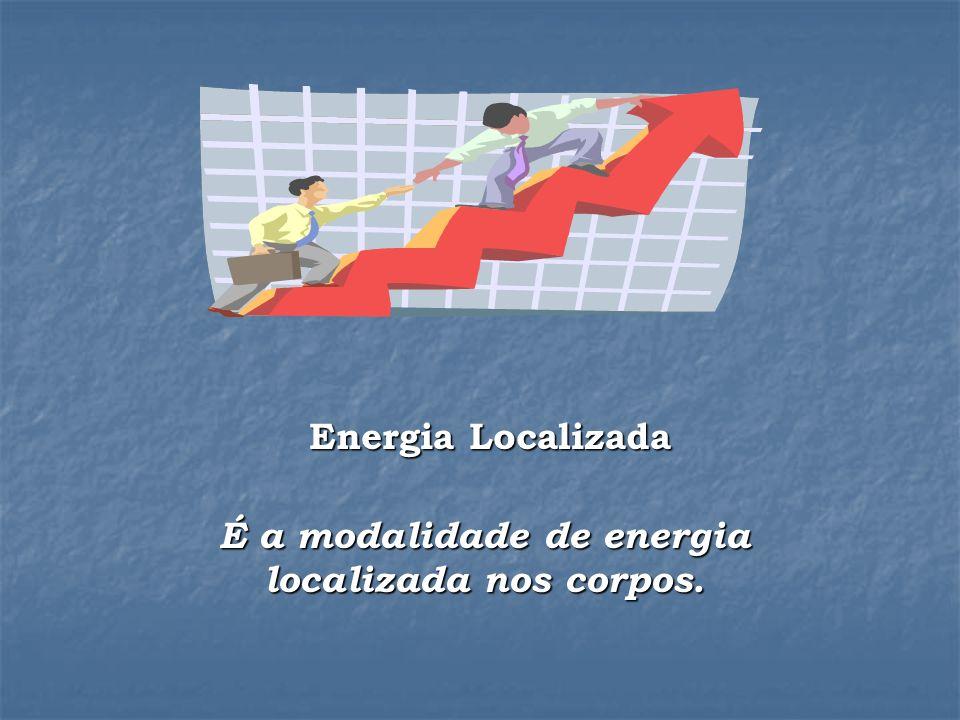 Energia Localizada Energia Localizada É a modalidade de energia localizada nos corpos.
