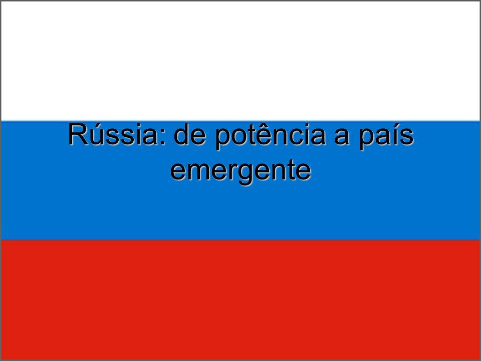 Espaço físico Invernos rigorosos na Sibéria População se concentra na área do Cáucaso: clima melhor/proximidade com a Europa Solo tchernozion: o mais fértil do mundo.