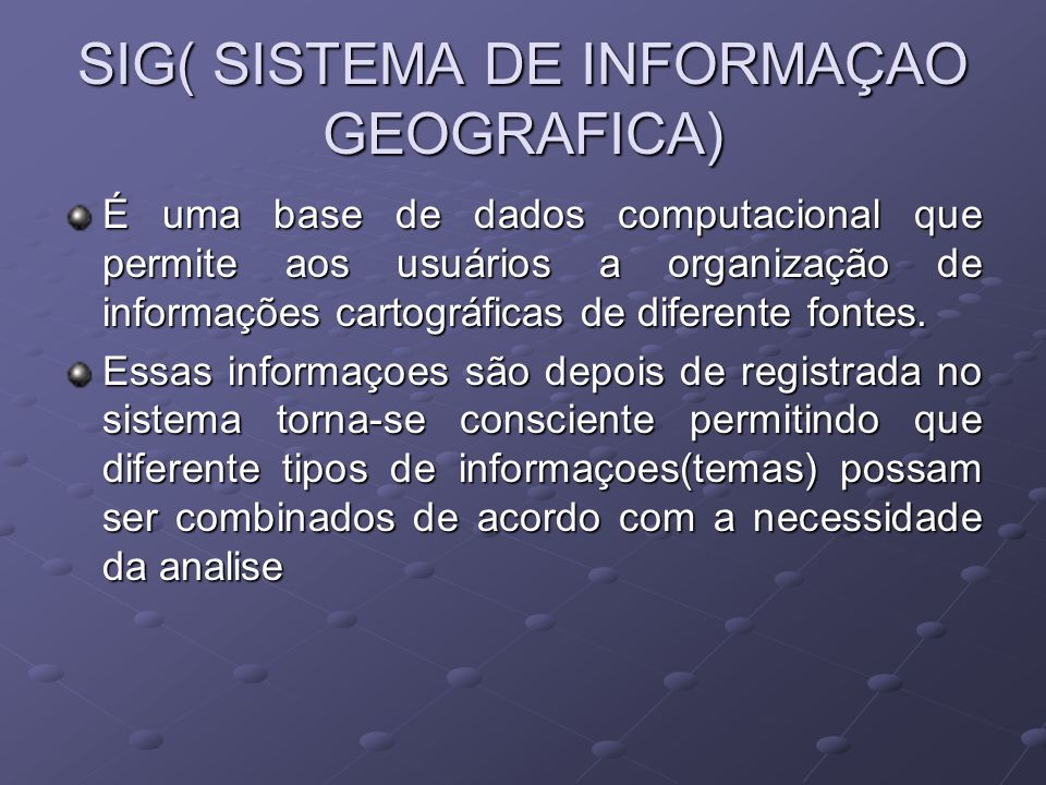 GPS SISTEMA DE POSICIONAMENTO GLOBAL.