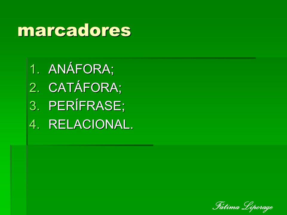 Anafóricos São as palavras ou expressões que recuperam contextualmente o significado de termos anteriores (antecedentes).