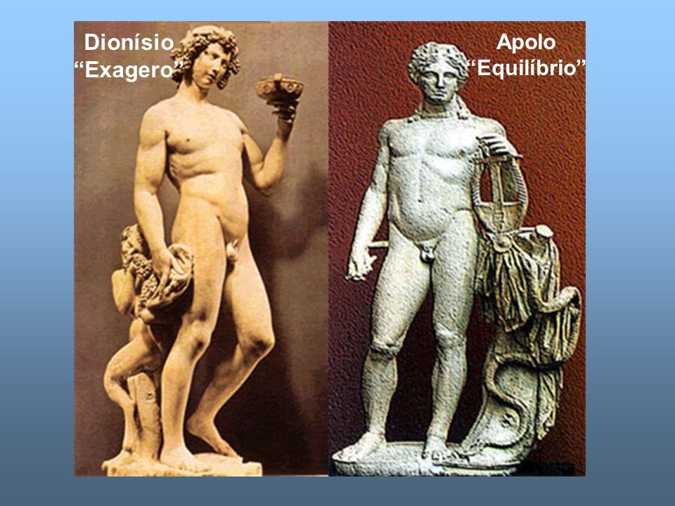 Dionísio Exagero Apolo Equilíbrio