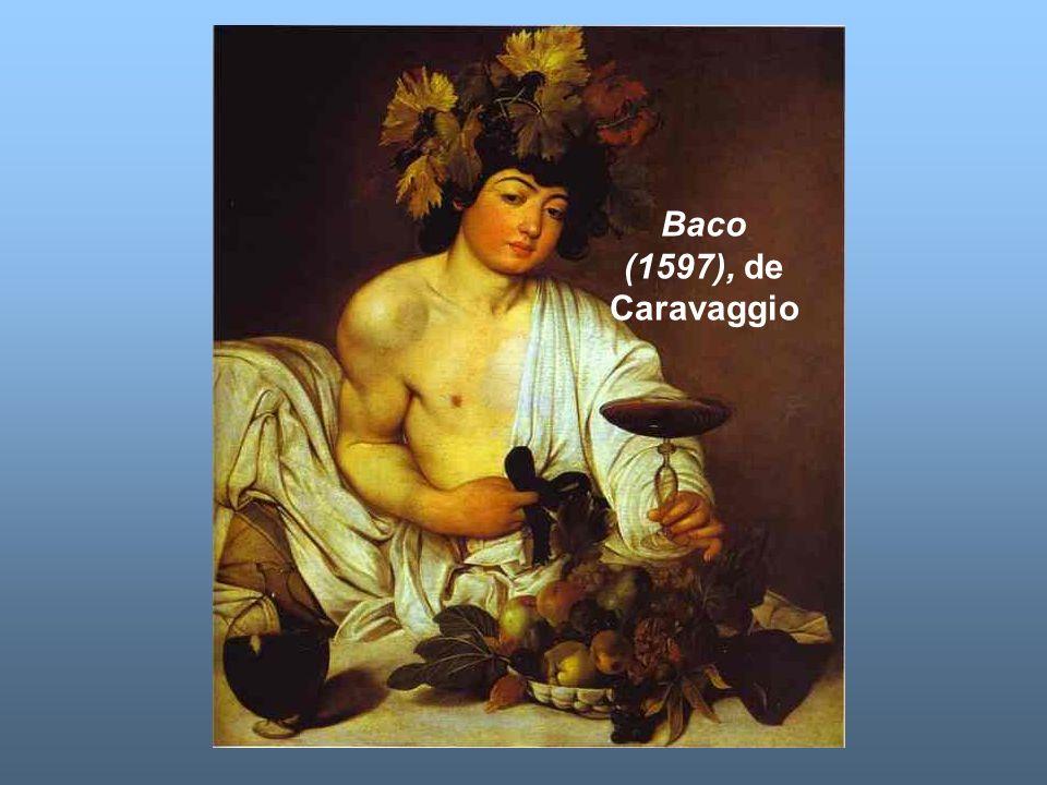 Baco (1597), de Caravaggio