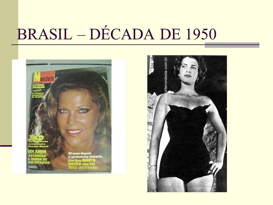 BRASIL – DÉCADA DE 1950