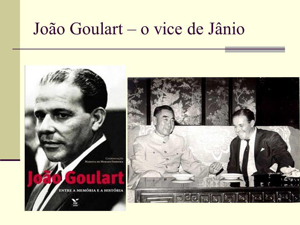 João Goulart – o vice de Jânio