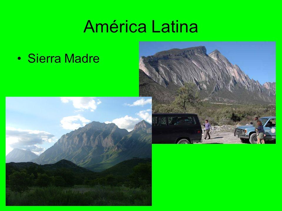 América Latina Sierra Madre