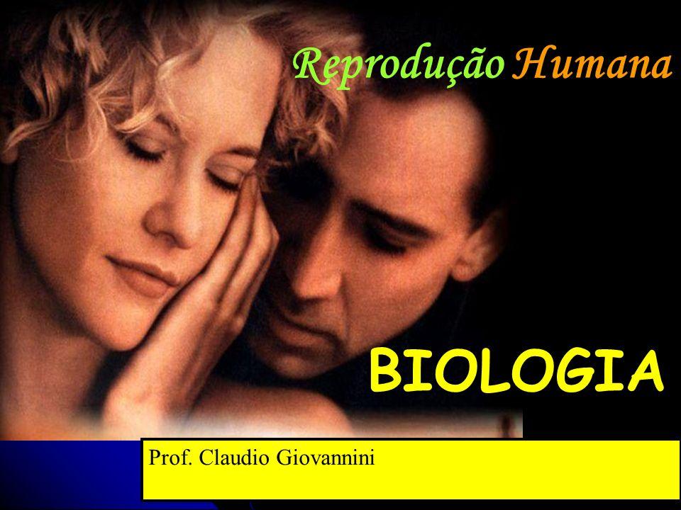 BIOLOGIA Prof. Claudio Giovannini Reprodução Humana