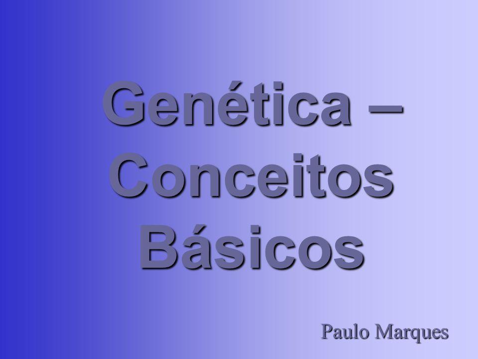 Conceitos Gerais Forma de ação dos genes: –Um par de genes pode determinar apenas uma característica.