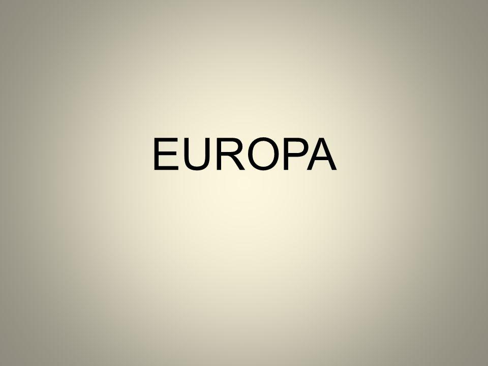 A população européia