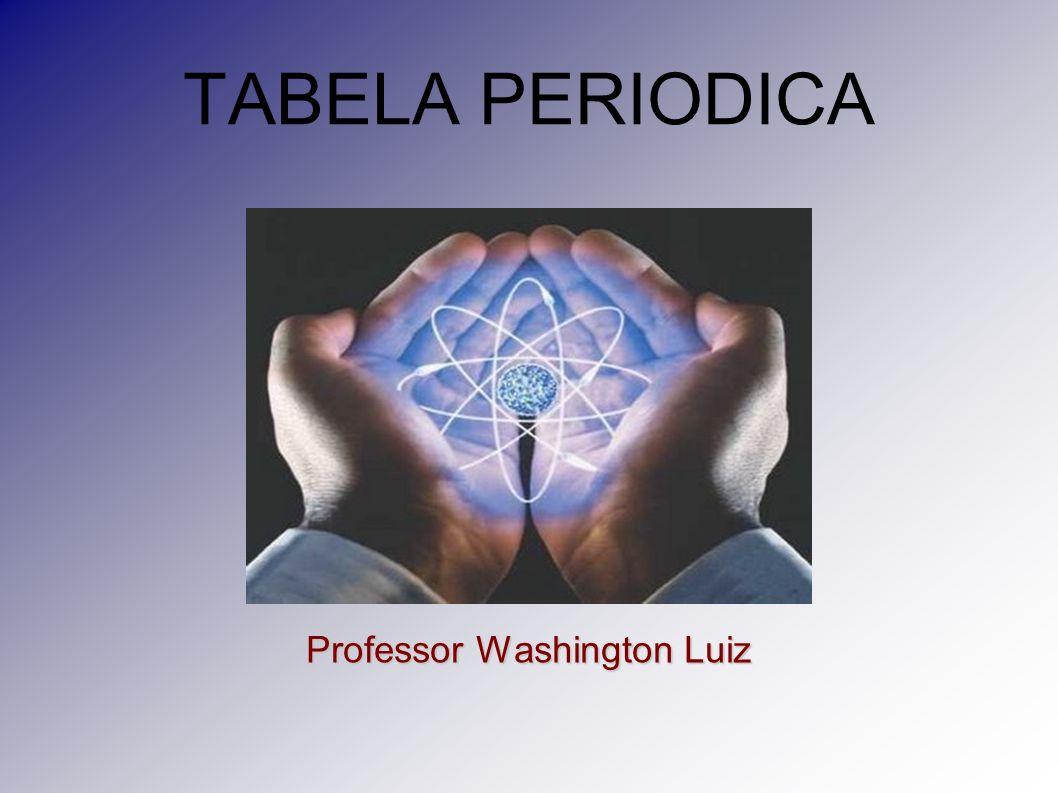 TABELA PERIODICA Professor Washington Luiz