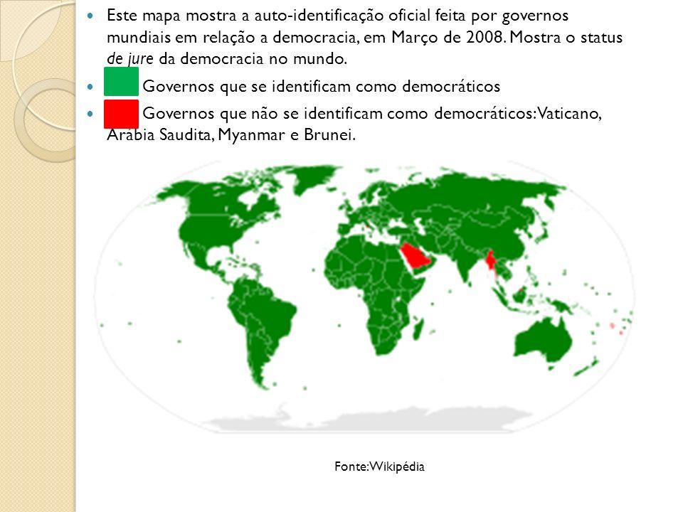 Direito ao Voto No passado muitos grupos foram excluídos do direito de voto, em vários níveis.