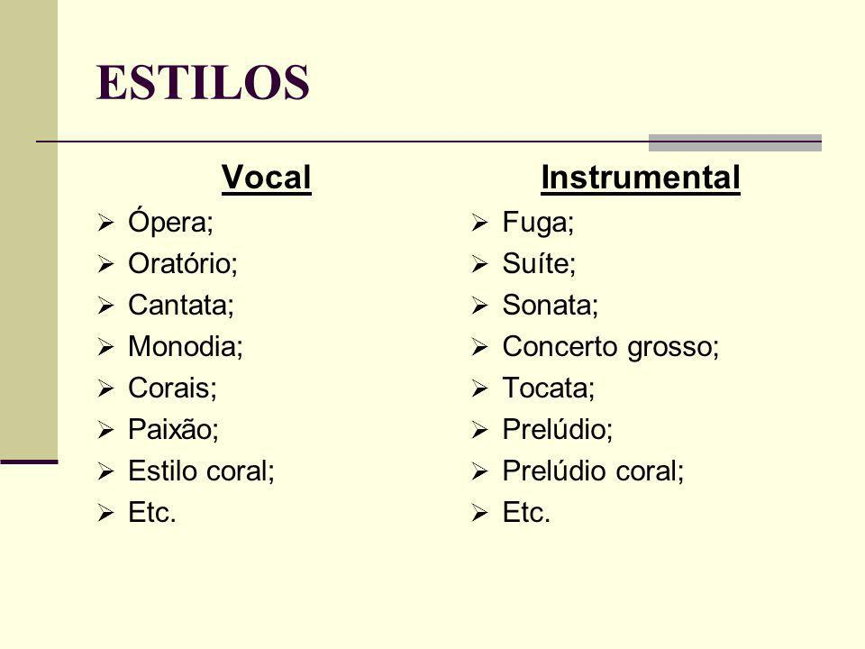 INSTRUMENTOS cravo alaúde barroco flauta doce baixo órgão cello