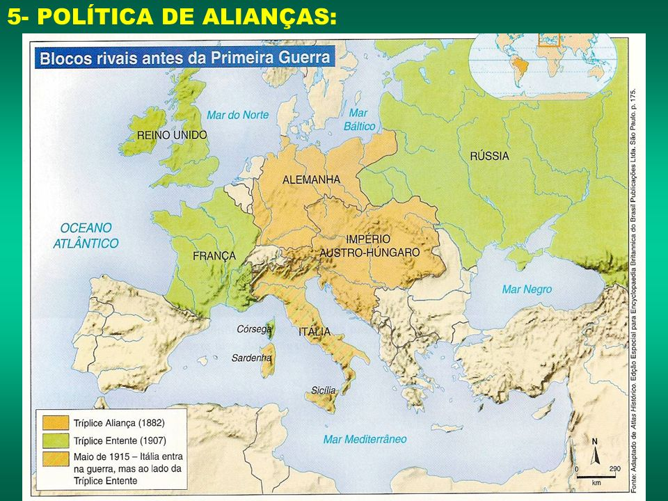 5- POLÍTICA DE ALIANÇAS: