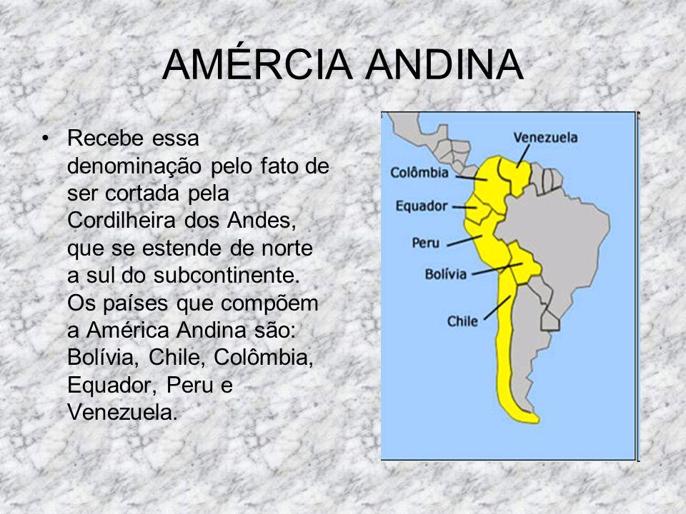 BOLÍVIACHILE COLÔMBIA EQUADOR PERU VENEZUELA