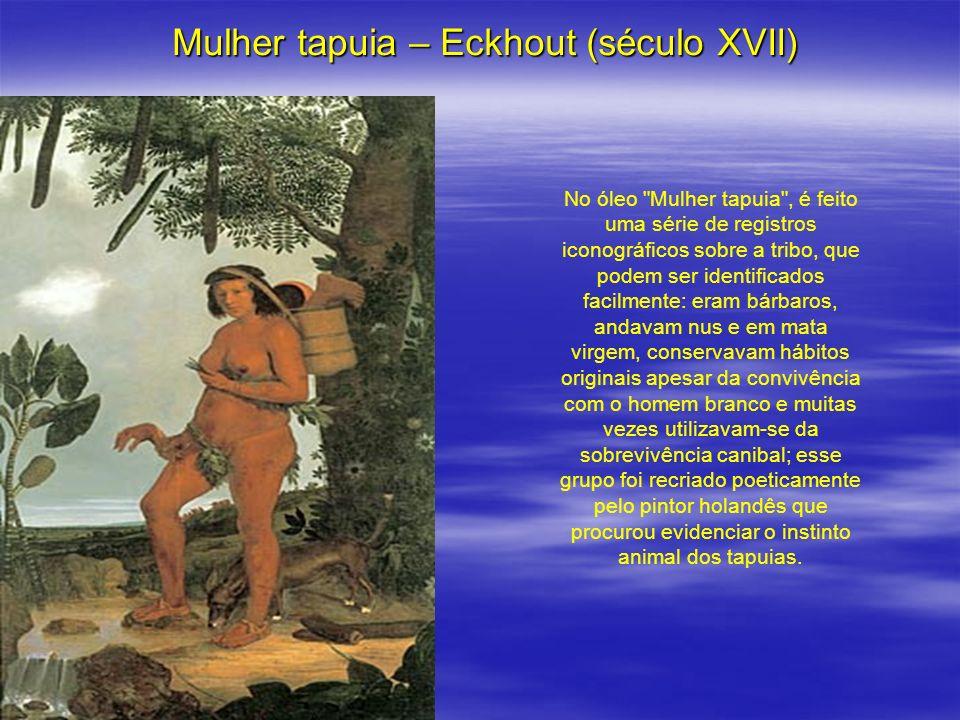 Mulher tapuia – Eckhout (século XVII) No óleo