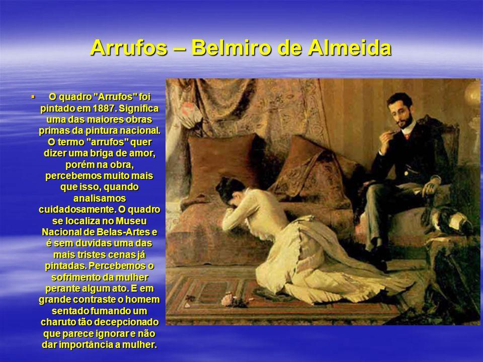 Redenção de Can – Modesto y Brocos.Notamos nessa obra, a formação étnica e cultural do Brasil.