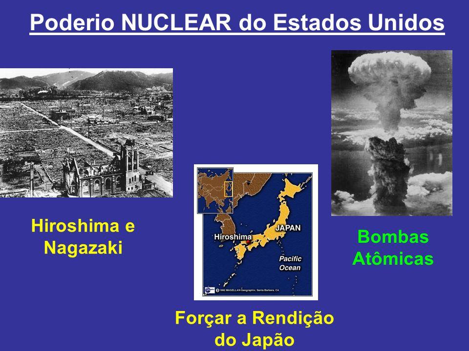 Bombas Atômicas Poderio NUCLEAR do Estados Unidos Hiroshima e Nagazaki Forçar a Rendição do Japão