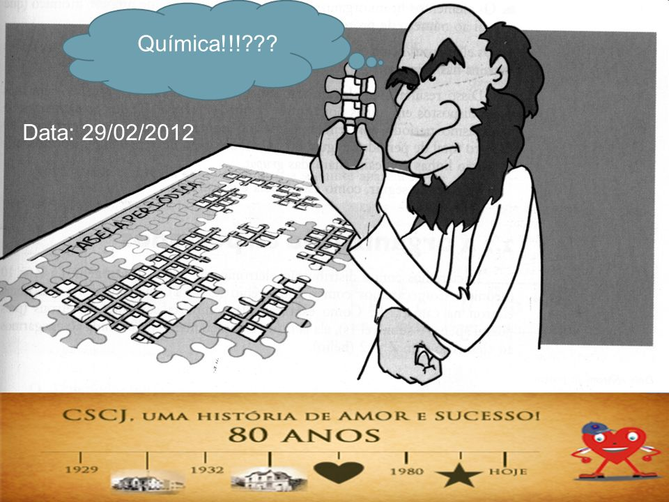 Química!!!??? Data: 29/02/2012