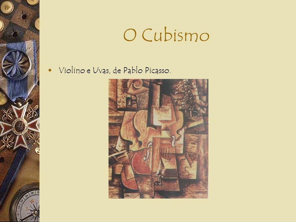 O Cubismo CUBISMO LITERÁRIO: Sistema poético de subjetivização e desintegração da realidade (...) uma poesia cujas características são o ilogismo, o h