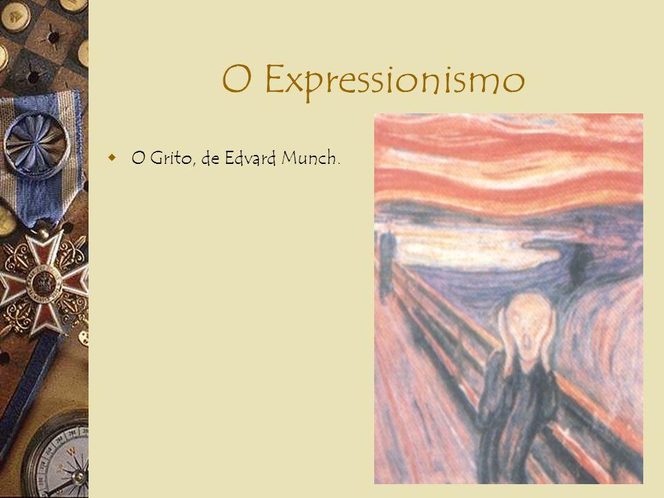O Expressionismo Na Literatura: 1.Linguagem fragmentada, elíptica, repleta de frases nominais; 2.Despreocupação com a divisão em estrofes, com o uso d