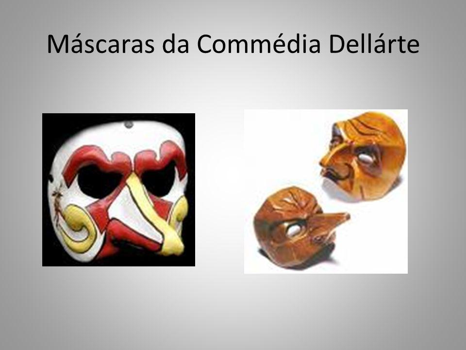 Máscaras da Commédia Dellárte