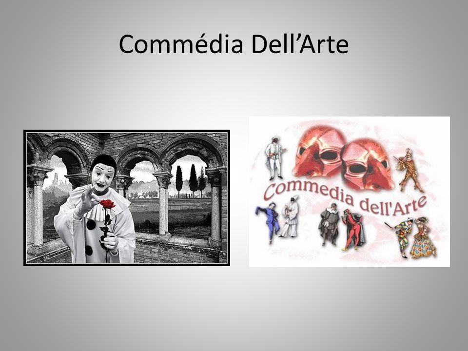 A diversidade de dialetos na Itália do século XVI foi um elemento a mais na configuração das personagens.