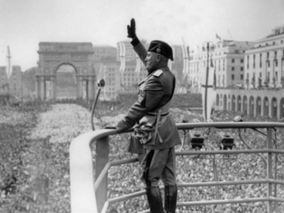 1935 – 1936 1935 – 1936 : Invasão da Etiópia; 1936 : Formação do Eixo Roma – Berlim; corporativismo luta de classes Particularidade: na doutrina fasci
