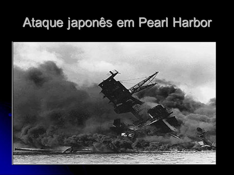 Ataque japonês em Pearl Harbor