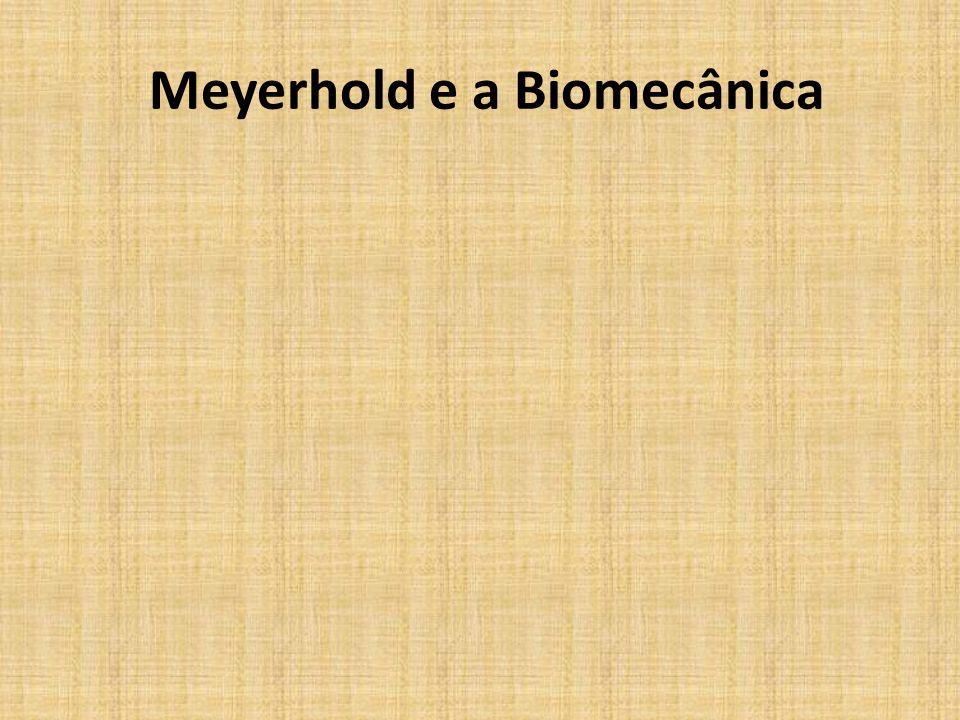 BIOMECÂNICA Meyerhold na seqüência de biomecânica atirando a flecha (foto sem referência de autoria).