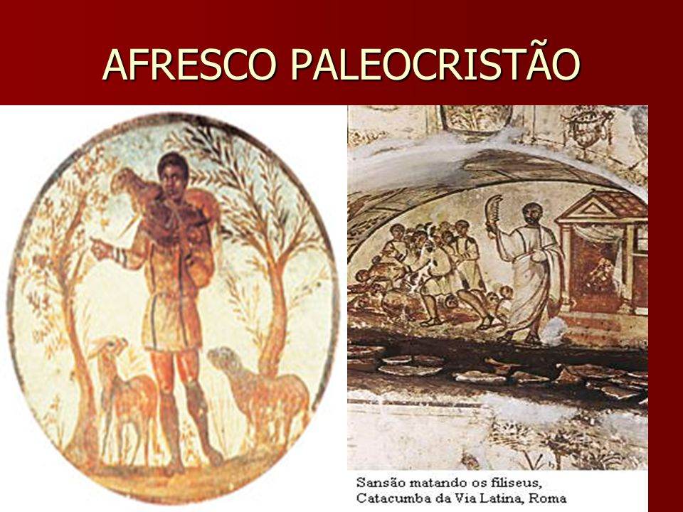 AFRESCO PALEOCRISTÃO