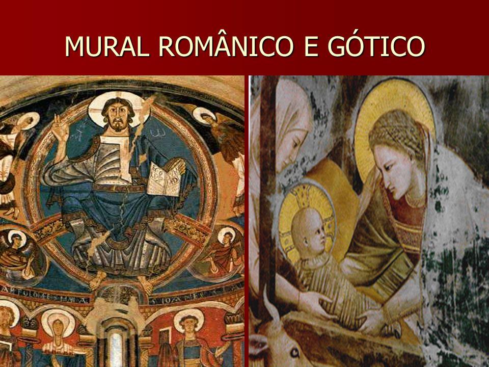 MURAL ROMÂNICO E GÓTICO