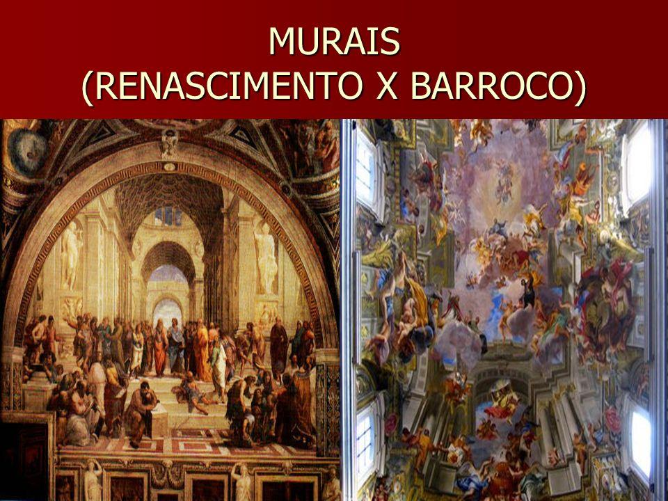 MURALISMO Muralismo, pintura mural ou parietal é a pintura executada sobre uma parede, quer diretamente na sua superfície, como num afresco,quer num painel montado numa exposição permanente.