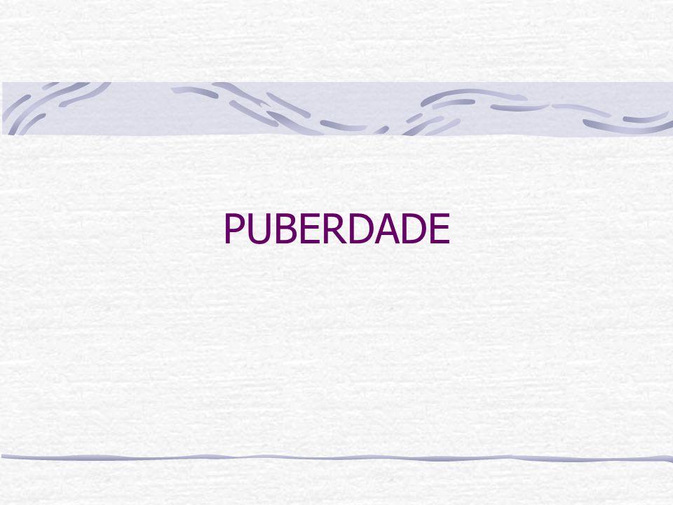 O que é puberdade.