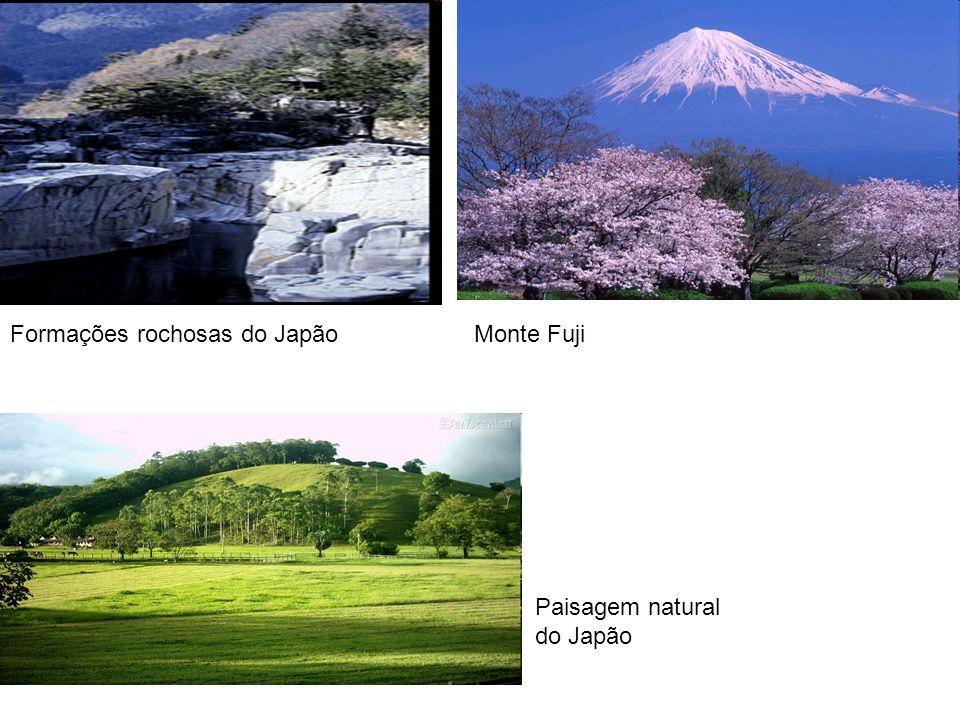 Formações rochosas do JapãoMonte Fuji Paisagem natural do Japão