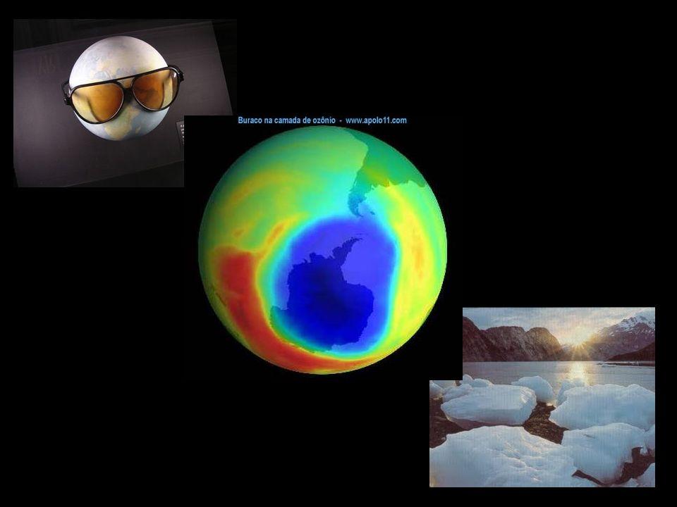 Mas, o que é a Camada de Ozônio? A camada de ozônio é um filtro de proteção para o planeta Terra. Ela protege a superfície terrestre dos raios ultravi