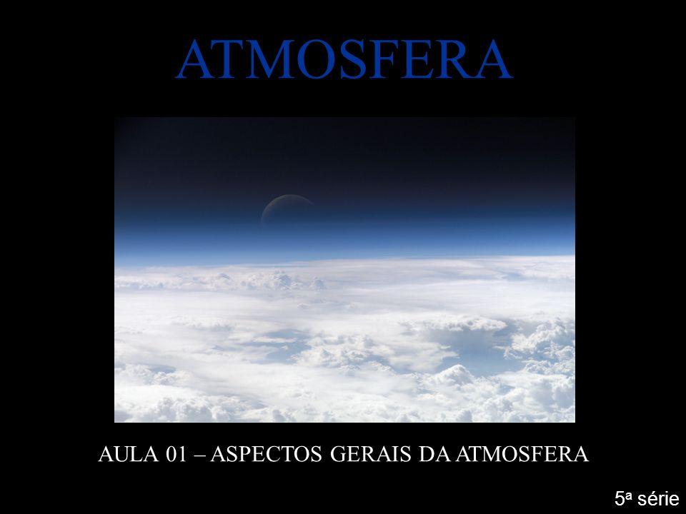 ATMOSFERA AULA 01 – ASPECTOS GERAIS DA ATMOSFERA 5 a série