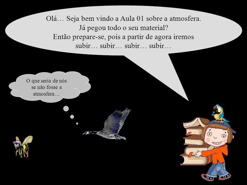NA PRÓXIMA AULA VOCÊ VAI DESCOBRIR QUAIS SÃO AS CAMADAS DA ATMOSFERA NÃO PERCA !!!