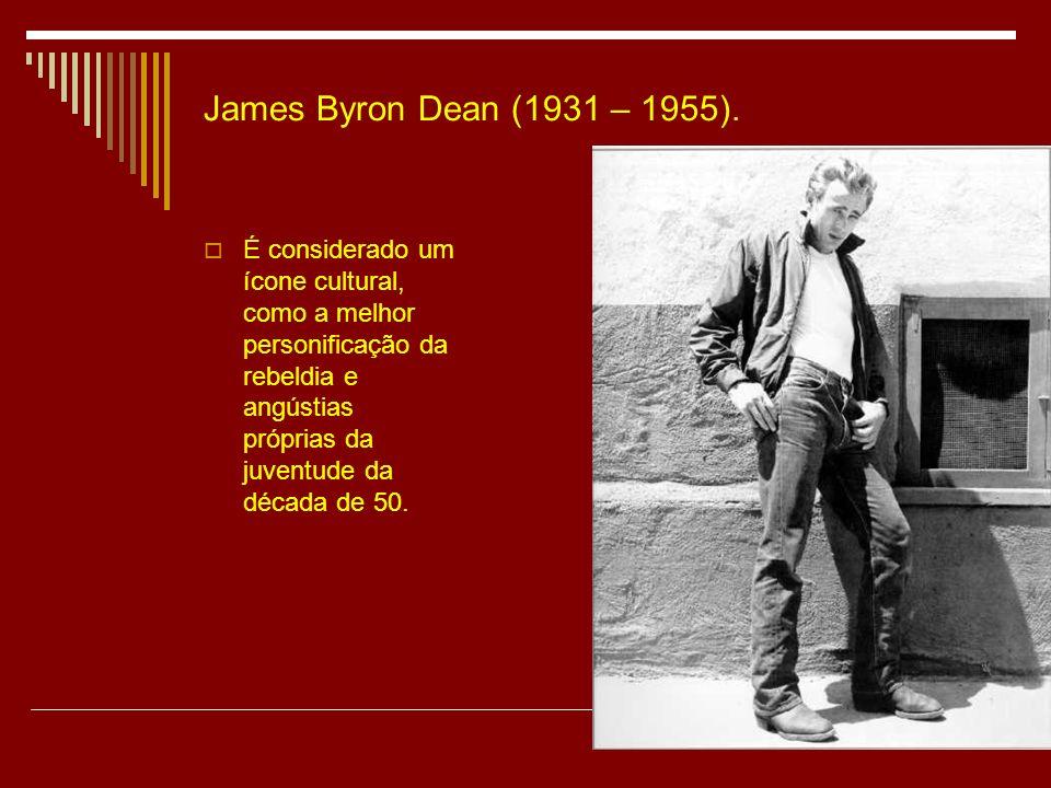 James Byron Dean (1931 – 1955).