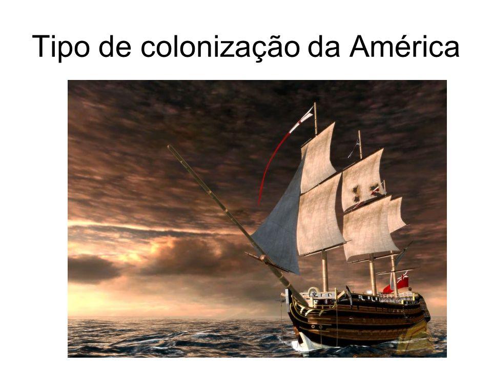 Tipo de colonização da América